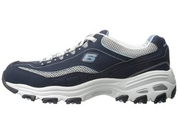 Skechers Women Navy D'Lites - Life Saver Lifestyle Sneakers - Thumbnail