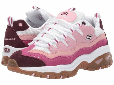 Skechers - Skechers Women Pink/White Energy - Sunny Waves Lifestyle Sneakers