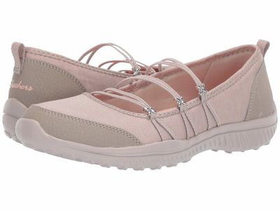 Skechers - Skechers Women Taupe Be-Lite - What-A-Twist Flats