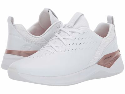 Skechers - Skechers Women White/Rose Gold Modena - Ceprano Lifestyle Sneakers