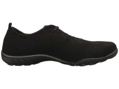 Skechers - SKECHERS Women's Black Breathe Easy - Serendipity Sneakers Athletic Shoes 88088243