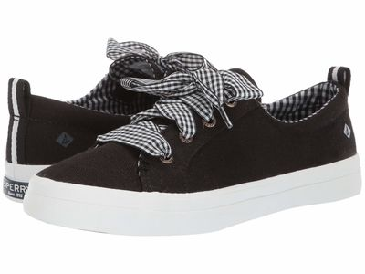 Sperry - Sperry Women Black Crest Vibe Gingham Lace Lifestyle Sneakers