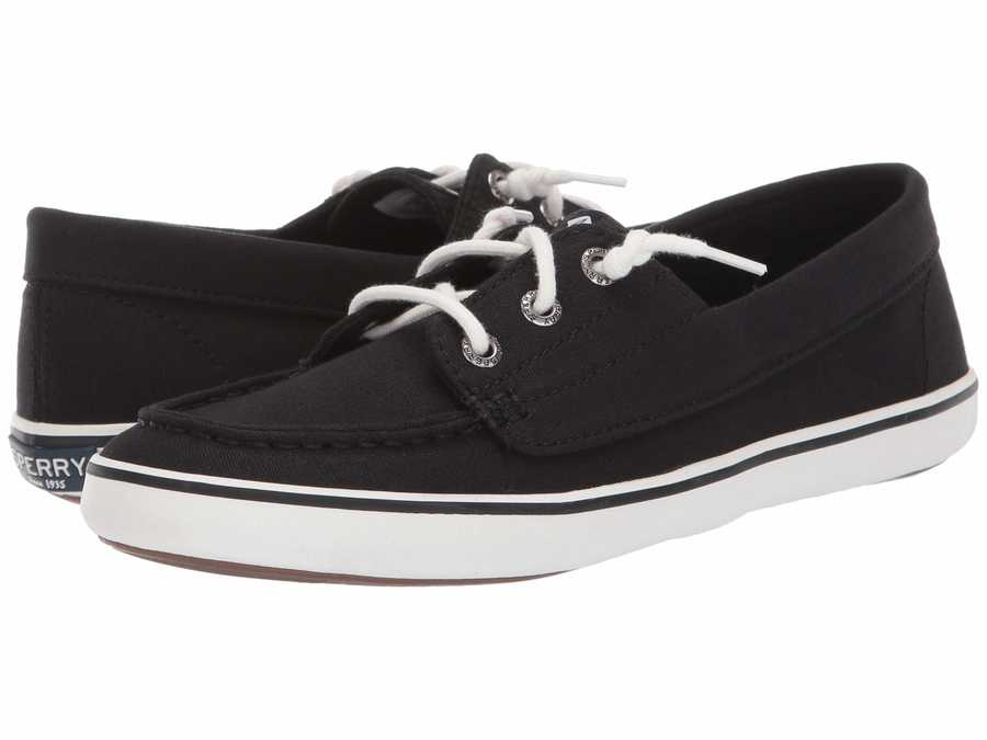 Sperry Women Black Lounge Camp Moc Lifestyle Sneakers