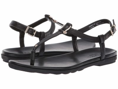 Sperry - Sperry Women Black Saltwater Sandal Buckle Flat Sandals