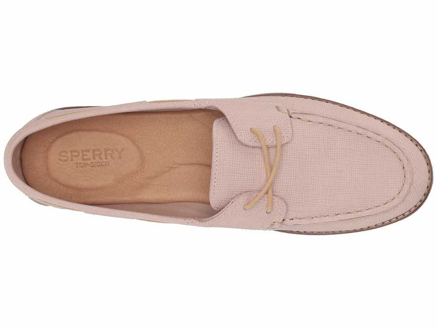 Sperry Women Blush Seaport Boat Boat Shoes