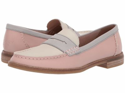 Sperry - Sperry Women Blush/İvory/Grey Seaport Penny Tri-Tone Loafers
