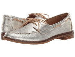 Sperry Women Gold Seaport Boat Boat Shoes - Thumbnail