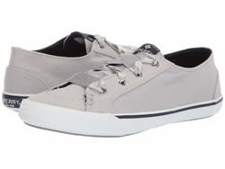 Sperry Women Grey Lounge Ltt Satin Lace Lifestyle Sneakers - Thumbnail