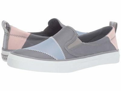 Sperry - Sperry Women Grey/Light Blue/Light Pink Crest Twin Gore Bionic® Lifestyle Sneakers