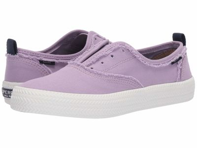 Sperry - Sperry Women Lavendar Crest Rope Fray Lifestyle Sneakers