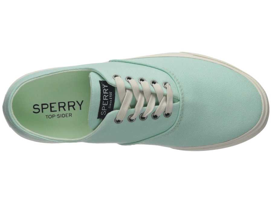 Sperry Women Mint Captain'S Cvo Lifestyle Sneakers