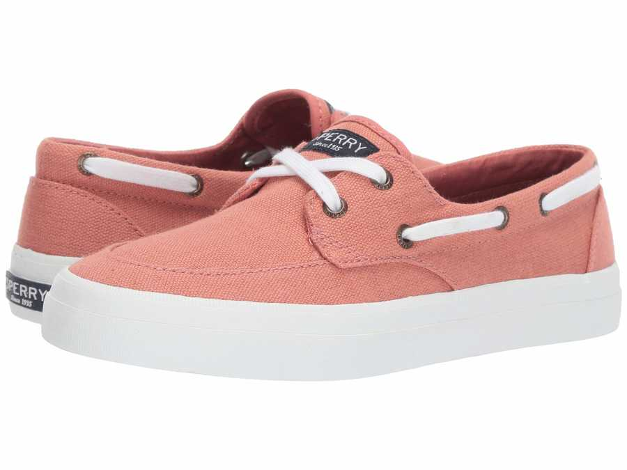 Sperry Women Nantucket Red Crest Boat Boat Shoes
