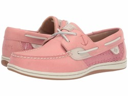Sperry Women Nantucket Red Koifish Mesh Boat Shoes - Thumbnail