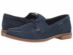 Sperry Women Navy Seaport Boat Boat Shoes - Thumbnail