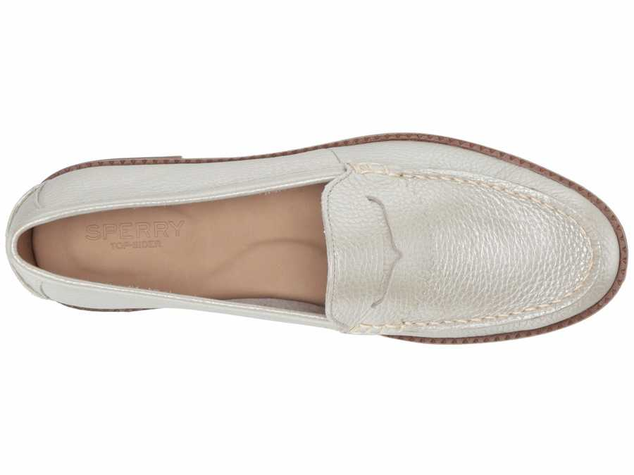 Sperry Women Platinum Waypoint Penny Loafers