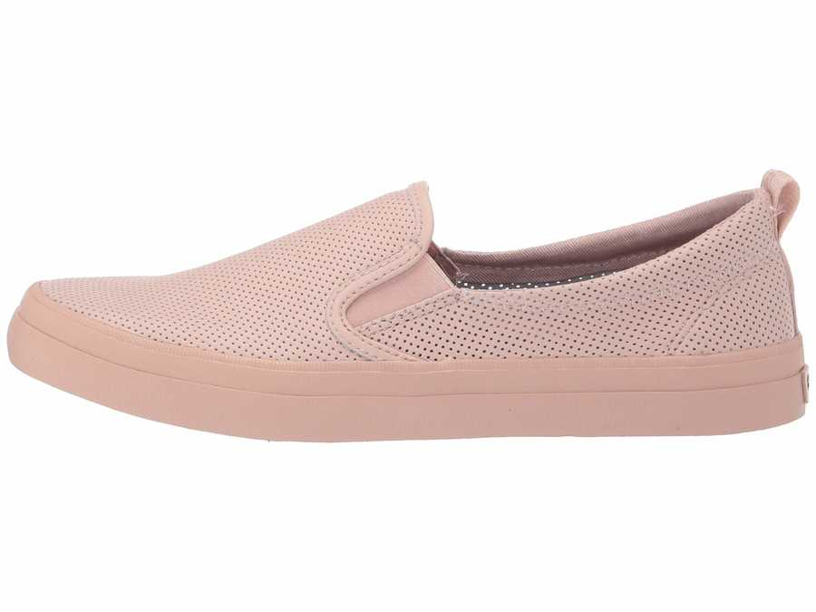 Sperry Women Rose Dust Crest Twin Gore Mini Perf Lifestyle Sneakers