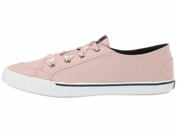 Sperry Women Rose Dust Lounge Ltt Satin Lace Lifestyle Sneakers - Thumbnail