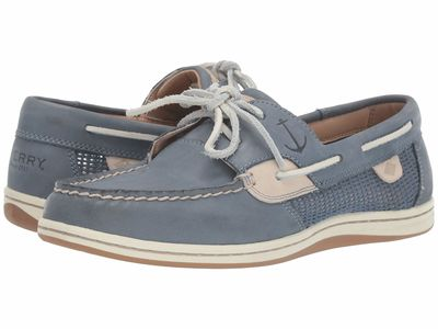 Sperry - Sperry Women Slate Blue Koifish Mesh Boat Shoes