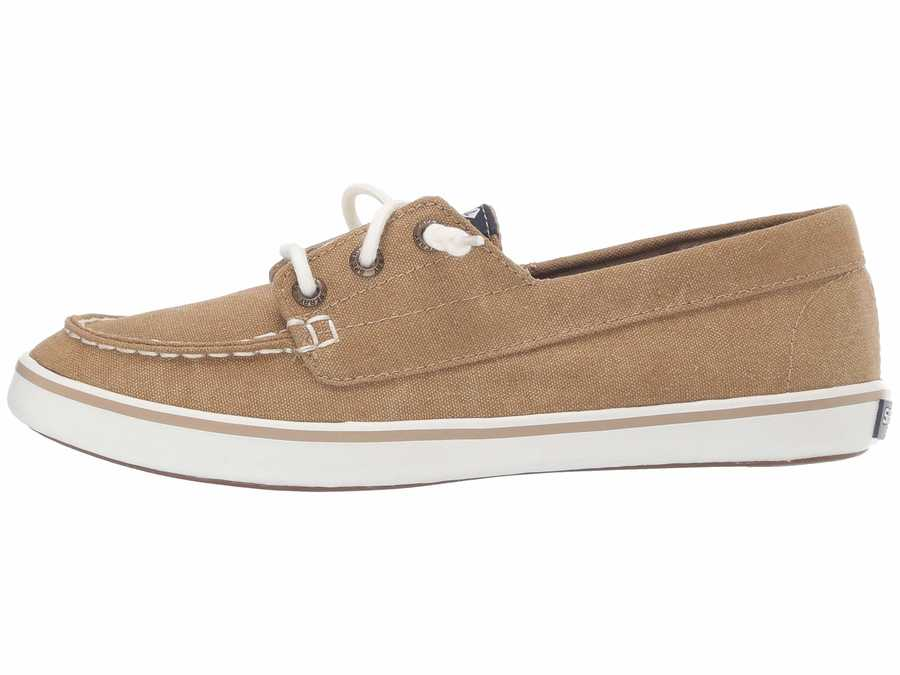 Sperry Women Tan Lounge Camp Moc Lifestyle Sneakers