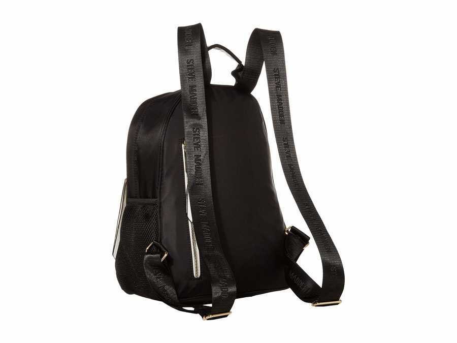 Steve Madden Black Bforce3 Backpack