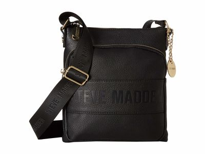 Steve Madden - Steve Madden Black Bneo Cross Body Bag