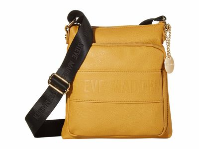Steve Madden - Steve Madden Black Bneo-Two-Tone Cross Body Bag