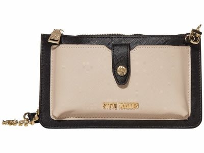 Steve Madden - Steve Madden Black Multi Bvynn Cross Body Bag