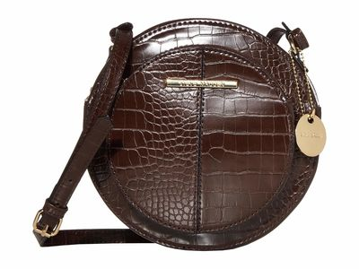 Steve Madden - Steve Madden Chocolate Bcarny Cross Body Bag