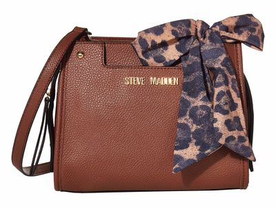 Steve Madden - Steve Madden Cognac Mini Danni Cross Body Bag