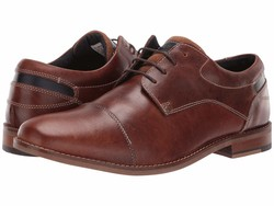 Steve Madden Men Cognac Kessler Oxfords - Thumbnail