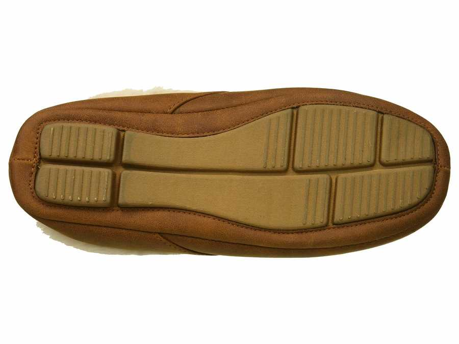Steve Madden Men Tan Daddeeo Slippers