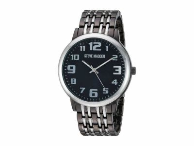 Steve Madden - Steve Madden Men's Analog Dial Alloy Band Watch SMW197