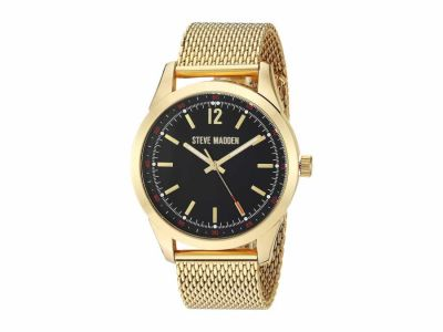 Steve Madden - Steve Madden Men's Dial Mesh Band Watch