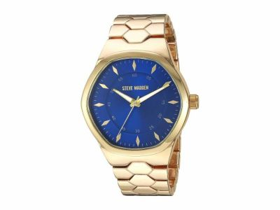 Steve Madden - Steve Madden Men's Geo Shaped Alloy Band Watch SMW196