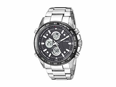 Steve Madden - Steve Madden Men's Watch SMW120BK