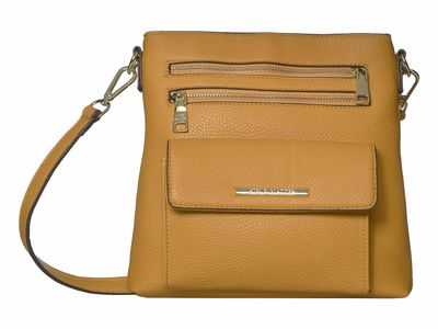 Steve Madden Mustard Blana Cross Body Bag