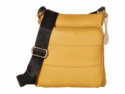Steve Madden - Steve Madden Mustard Bneo Cross Body Bag