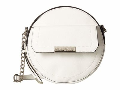 Steve Madden - Steve Madden White Bcancan Cross Body Bag