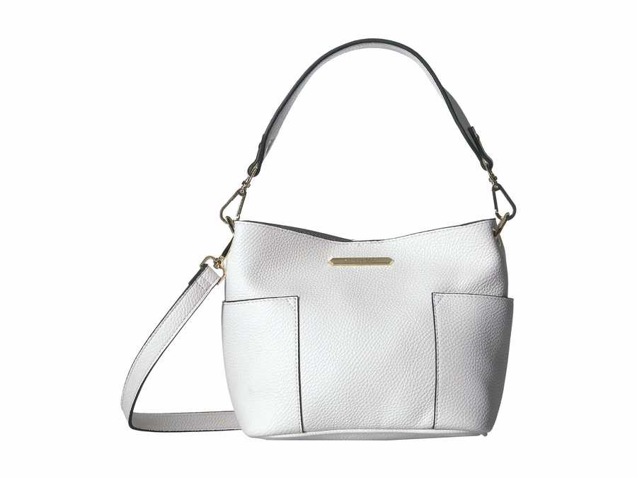 Steve Madden White Bkoltt Mini Satchel Handbag
