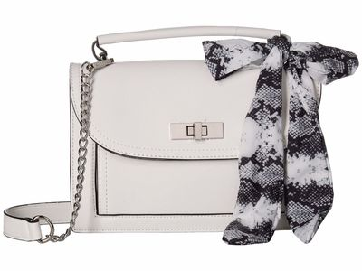 Steve Madden - Steve Madden White Btaylor Cross Body Bag