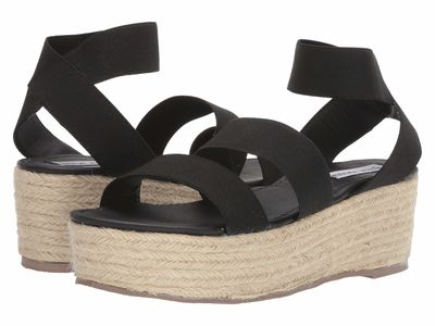 Steve Madden - Steve Madden Women Black Kairi Heeled Sandals