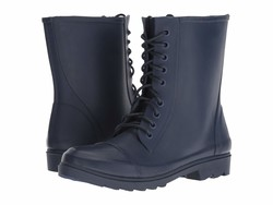 Steve Madden Women Blue Troopa-R Lace Up Boots - Thumbnail