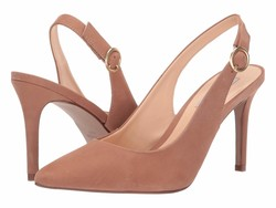 Steve Madden Women Blush Nubuck Amara Pumps - Thumbnail