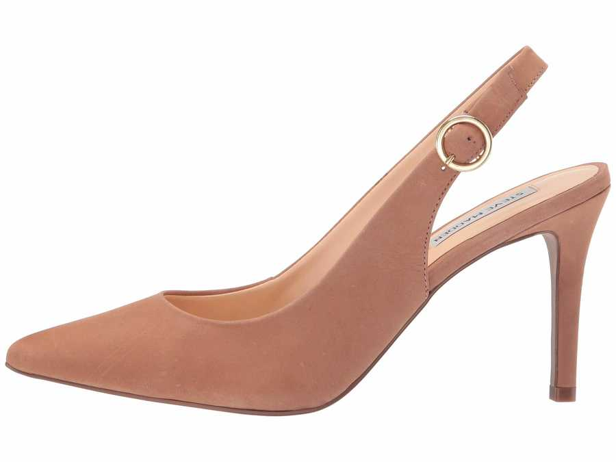 Steve Madden Women Blush Nubuck Amara Pumps