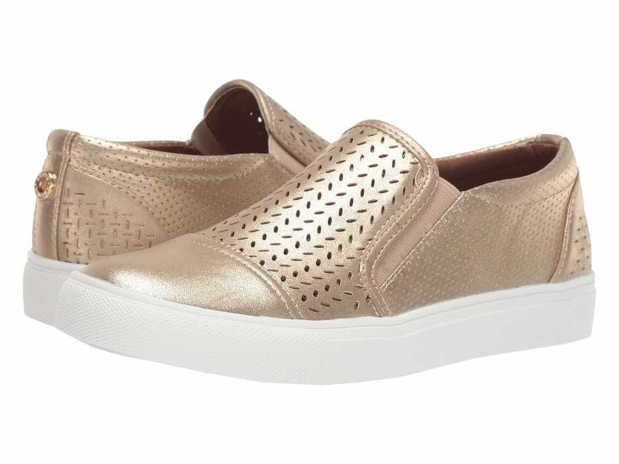 Steve Madden Women Gold Addie Lifestyle Sneakers
