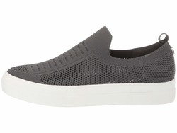 Steve Madden Women Grey Daray Slip-On Sneaker Lifestyle Sneakers - Thumbnail