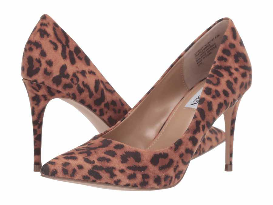 Steve Madden Women Leopard Attract Pumps