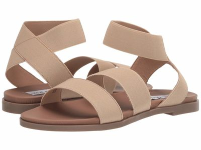 Steve Madden - Steve Madden Women Natural Effie Flat Sandals