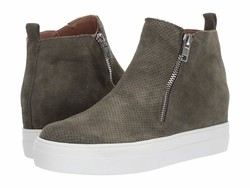 Steve Madden Women Olive Suede Carlen Lifestyle Sneakers - Thumbnail