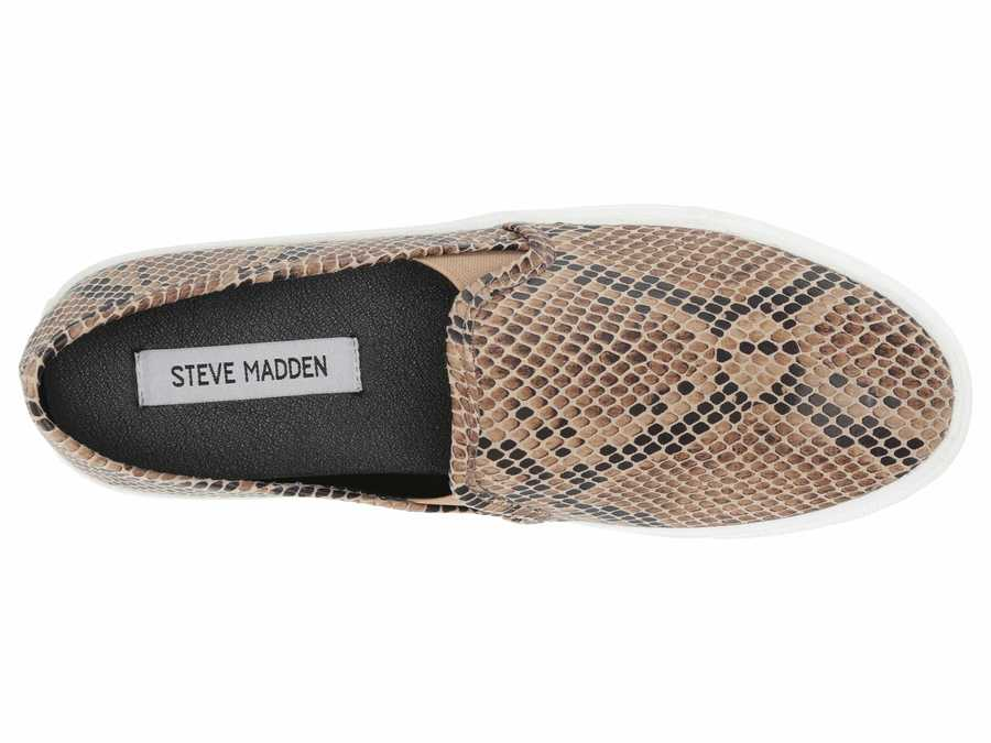 Steve Madden Women Taupe Multi Symba Lifestyle Sneakers
